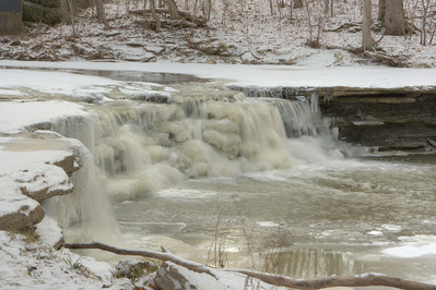 Flat Rock Creek Waterfalls, Morrow Ohio