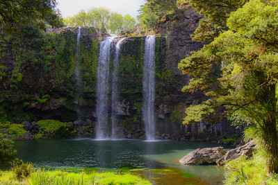 Whangarei Falls, North Island, New Zealand