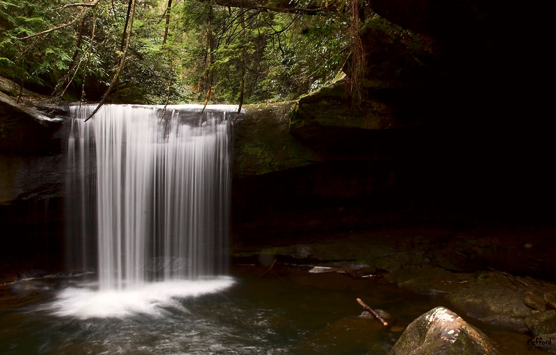 Dog Slaughter Falls, Whitley County Kentucky