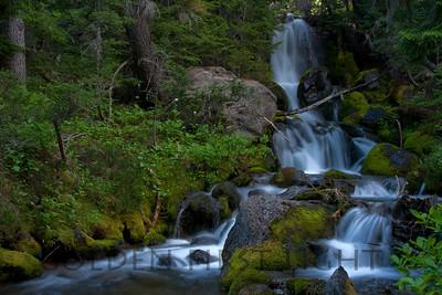Waterfall near Mt Adams