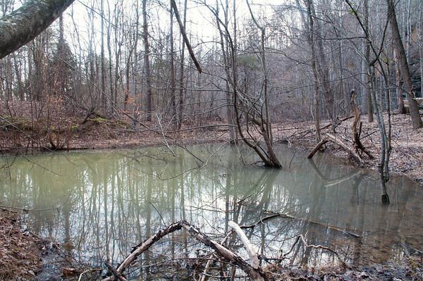 Pond. Refuge Ridge