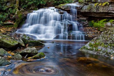 Falls of Shays Run, WV Middle Falls (IMG_1931)
