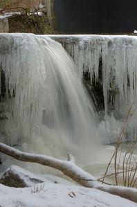 Flat Rock Creek Waterfall, Morrow, Ohio