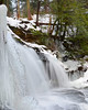 Ricketts Glen State Park<br /> Mohawk Falls<br /> January 2013