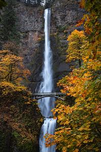 Multnomah Falls - Autumn
