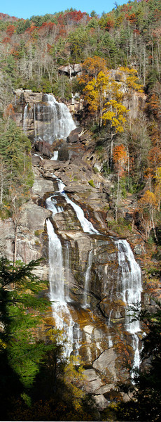 Upper Whitewater Falls.