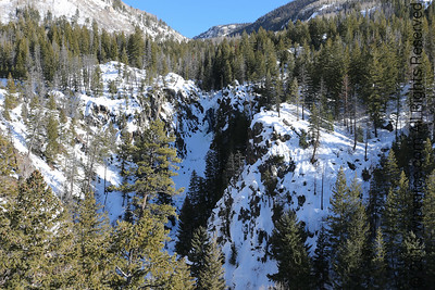 Fishcreek Falls, Steamboat Springs, CO.  Mid-February.