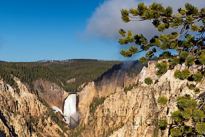 Yellowstone Falls, Artist's Point