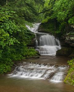 Enfield Glen, Triple Cascade, Robert H Treman State Park, NY.