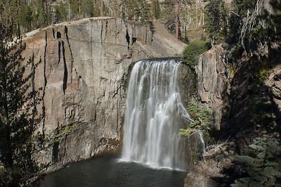 Rainbow Falls Eastern Sierras
