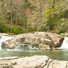 Upper falls at Linville Falls