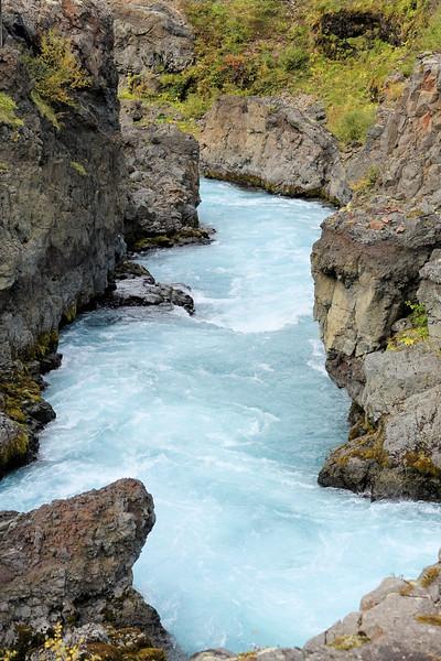 Barnafoss Falls