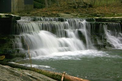 Flat Rock Creek Waterfalls, Morrow, Ohio