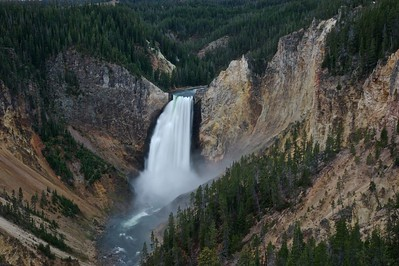 Waterfall Yellowstone National Park