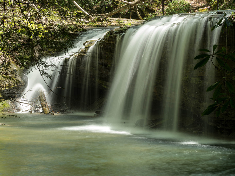 30 April 2013.  Princess Falls, McCreary County, Kentucky.