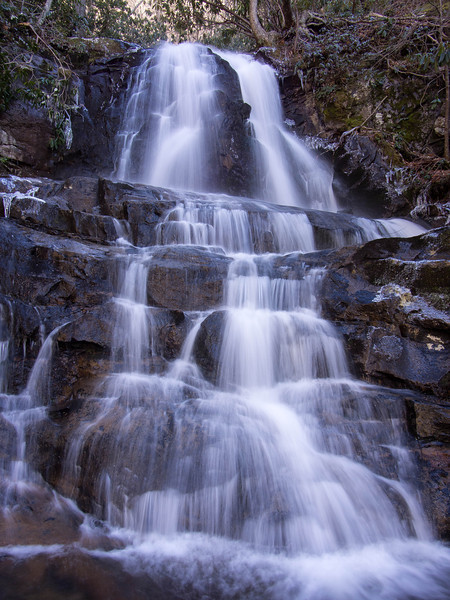 28 February 2013.  Laurel Falls, Great Smoky Mountains National Park