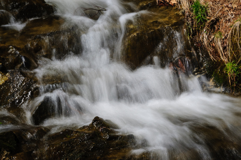 Unnamed Falls, Bass Lake Effluent