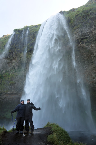 You will get wet in Seljalandsfoss
