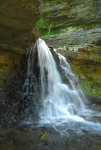 The Falls in McCormick's Creek State Park, IN
