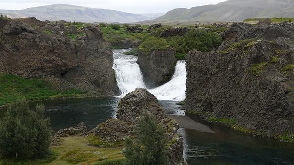 Hjalparfoss - Wildings farm village from Games of Thrones