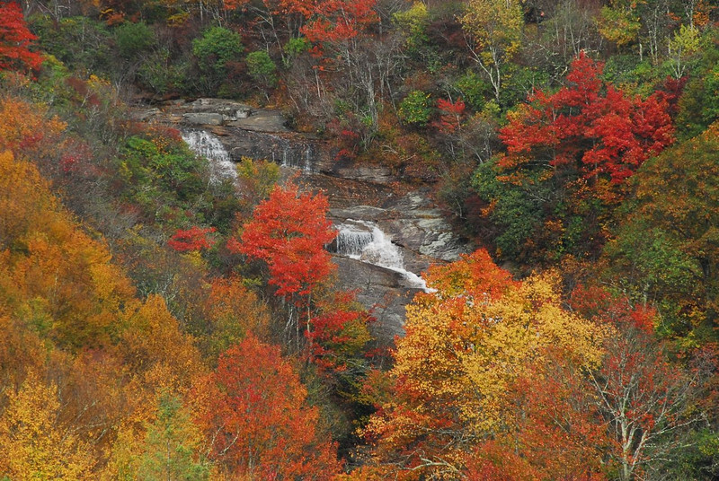 Lower Falls at the Graveyards (in the Fall)
