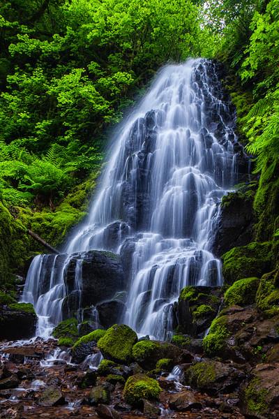Fairy Falls; Columbia River Gorge
