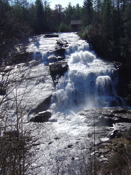 High Falls: Dupont National Forest, NC