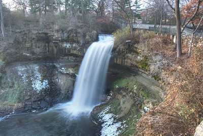 Minihaha Falls, Minneapolis, MN