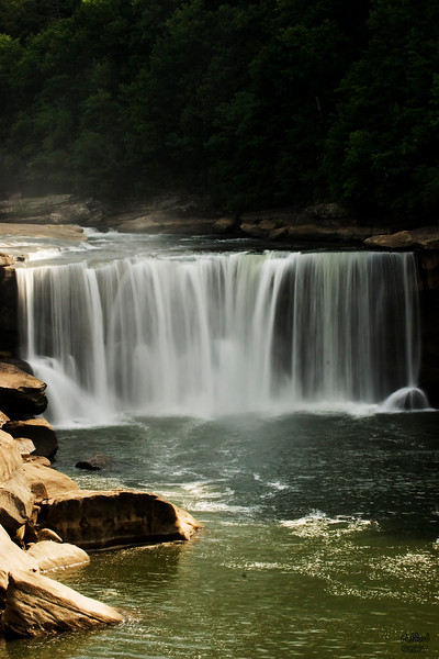 Cumberland Falls, Whitley County, Kentucky.