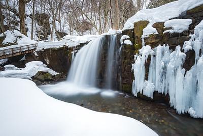 Freezing Temperatures at Choshi Otaki