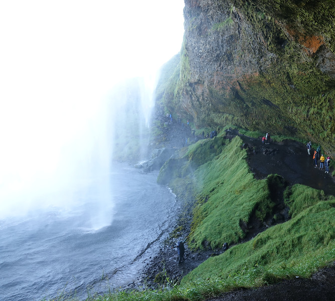 Better bring rain gear - Seljalandsfoss Falls