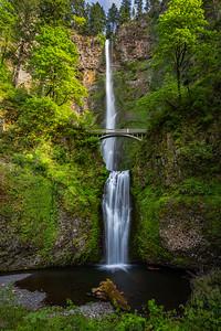 Multnomah Falls - Spring