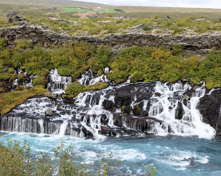 Hraunfossar - Lava Falls