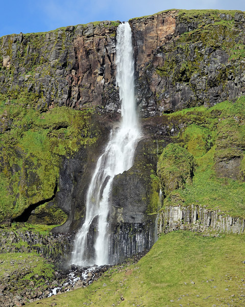 More waterfalls along our route