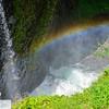 Rainbow near Tunnel Falls - Eagle Creek