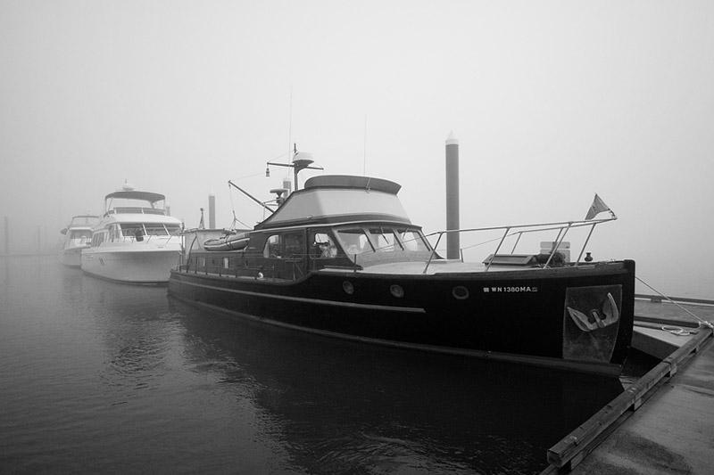 St. Helens City Docks in Fog Sigma 10-20mm f/4-5.6 EX DC HSM