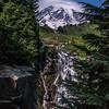 Myrtle Falls  Mt Rainier