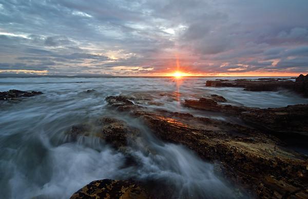 Sunkissed sunset, San Pedro