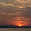 Sunset in May, Lake Champlain