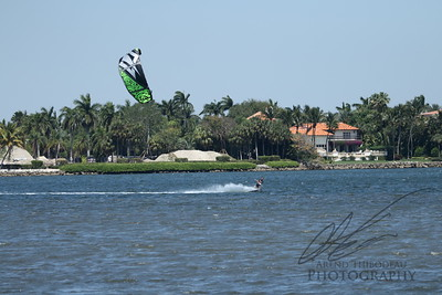 Windsurfing in Biscyne Bay