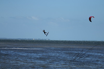 Windsurfing in Biscyne Bay