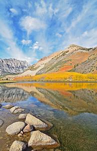 North lake fall reflections