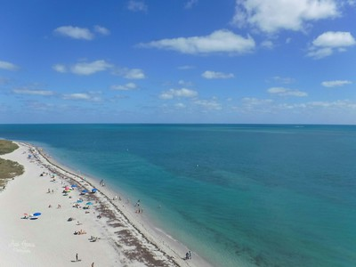 My view from the top of the Cape Florida Light.