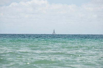 It looks so dreamy to be out in the water on a sail boat