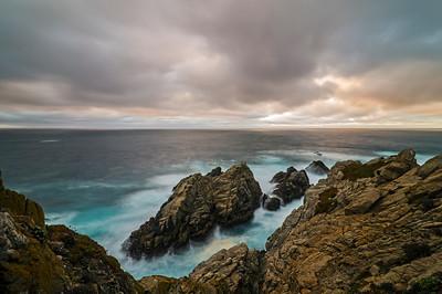 Point Lobos, Pinnacle Rock sunset