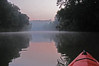 Buying a small kayak last summer has opened new worlds for me, not to mention new scenic vistas for photography...here we are at sunrise on the Duck River in Maury County, Tennessee.