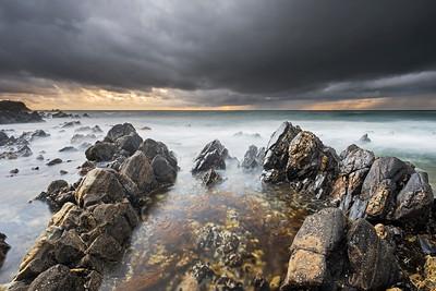 Stormy Tidepool, Palos Verdes CA