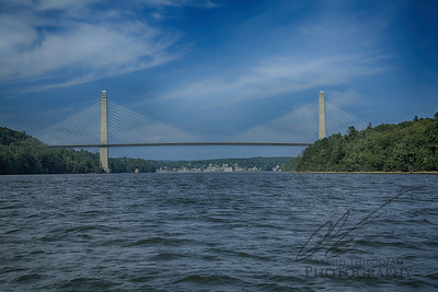 Bucksport Maine from the Penobscot River
