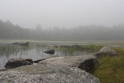 Maine freshwater cove