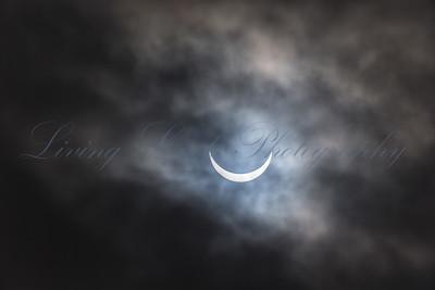 Solar Eclipse over Glastonbury